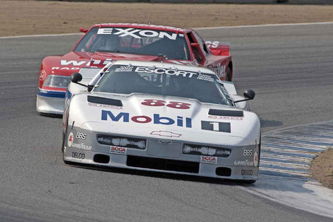Michael Haemmig - 1988 Chevrolet Corvette in Group 5B  at the 2016 Rolex Monterey Motorsport Reunion - Mazda Raceway Laguna Seca