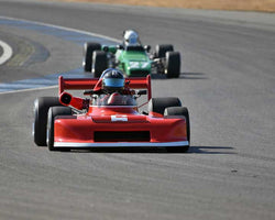 Allen Nicholas with 1978 March 78B in  Group 7 at the 2015 Season Finale at Thunderhill Raceway