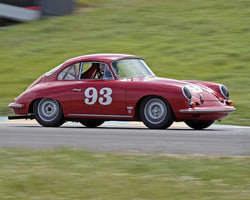 Chris Torp with 1963 Porsche 356B in Group 2 - at the 2016 CSRG David Love Memorial - Sears Point Raceway