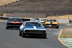 Ken Epsman with 1971 AMC Javelin in Group 10 at the 2016 SVRA Sonoma Historics - Sears Point Raceway