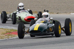 Jim Brown - 1961 Lotus 20 in Group 3 at the 2017 HMSA Spring Club Event - Mazda Raceway Laguna Seca