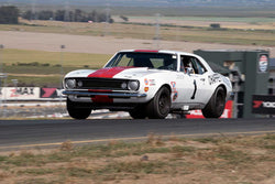 Mark Mountanos with 1967 Chevrolet Trans Am Camaro in Group 10 at the 2016 SVRA Sonoma Historics - Sears Point Raceway