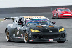 Taz Harvey - 2007 Mazda RX8 - Group 10 at the 2017 Brickyard Vintage Racing Invitational run at Indianapolis Motor Speedway