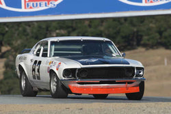 Gordon Gimbel - 1969 Ford Mustang  in Group C/1966-1972 Trans-Am at the 2017 SCRAMP Spring Classic run at Mazda Raceway Laguna Seca