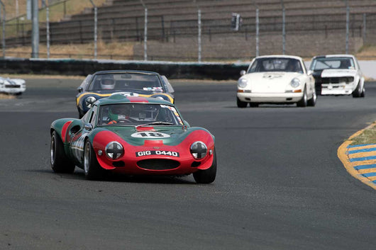 Fred Della Noce with 1966 Ginetta G12 in Group 9 -  at the 2016 SVRA Sonoma Historics - Sears Point Raceway
