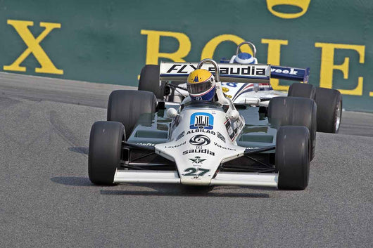 Charles Nearburg - 1980 Williams FW07B in Group 7B  at the 2016 Rolex Monterey Motorsport Reunion - Mazda Raceway Laguna Seca