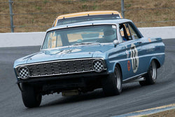 Mike Eddy with 1964 Ford Falcon in Group 10 at the 2016 SVRA Sonoma Historics - Sears Point Raceway