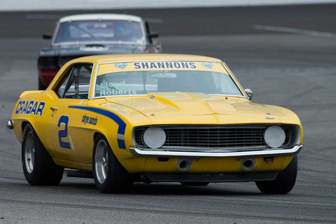 David Roberts - 1969 Chevrolet Camaro - Group 6 at the 2017 Brickyard Vintage Racing Invitationalrun at Indianapolis Motor Speedway