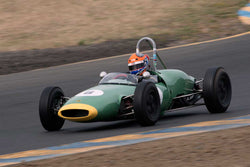 Andrew Wait with 1962 Lotus 22 in Group 4 -  at the 2016 SVRA Sonoma Historics - Sears Point Raceway