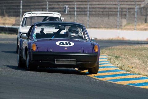 Jon Wactor with 1970 Porsche 914/6 in Group 9 -  at the 2016 SVRA Sonoma Historics - Sears Point Raceway