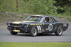 Darren Glaser - 1966 Ford Mustang in Group 3 at the 2017 SOVREN Spring Sprints run at Pacific Raceways