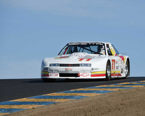Nick De Vitis with 1988 Chevrolet Beretta in Group 13 - 1982-1991 Historic IMSA GTO/SCCA Trans-Am at the 2015 Sonoma Historic Motorsports Festival at Sonoma Raceway