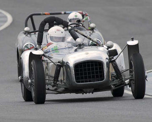 Jay Embree with 1954 Lotus Mk VI in  Group 1 at the 2015 Season Finale at Thunderhill Raceway