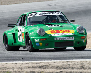 Dennis Singleton with 1974 Porsche 911 RSR at the 2016 HMSA LSR Invitational I at Mazda Raceway Laguna Seca