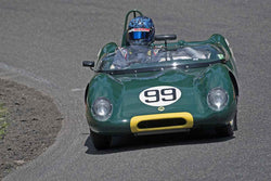 Thor Johnson - 1959 Lotus 17 in Group 1B/2A at the 2017 SOVREN Pacific Northwest Historicsrun at Pacific Raceways
