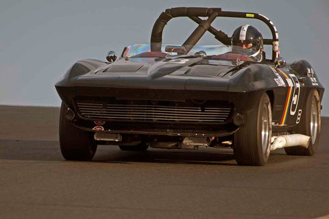 Jeff Abramson - 1964 Chevrolet Corvette Roadster in Group 3 - Large Displacement Production Sports Cars through 1967 at the 2017 CSRG Charity Challenge run at Sonoma Raceway