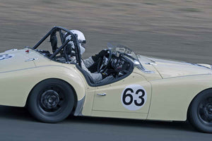 David Hogye - 1959 Triumph TR3A in Group 1 -  at the 2016 Charity Challenge - Sonoma Raceway