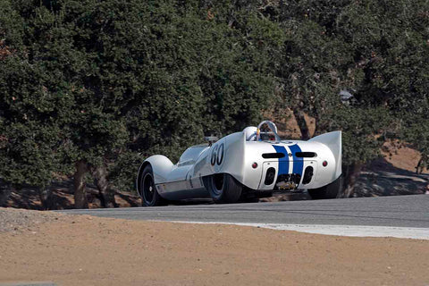 Dominic Dobson - 1961 Cooper Monaco Mk III in Group 3A - 1955-1961 Sports Racing Cars over 2000cc at the 2017 Rolex Monterey Motorsport Reunion run at Mazda Raceway Laguna Seca