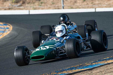 Granton Perryman - 1967 Brabham BT21 in Group 6B - Formula B at the 2017 CSRG Charity Challenge run at Sonoma Raceway