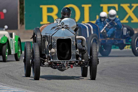 Dick Deluna - 1917 Hall-Scott The Four-A-7A in Group 1A - Pre 1940 Sports Racing & Touring Cars at the 2017 Rolex Monterey Motorsport Reunion run at Mazda Raceway Laguna Seca