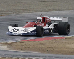 Chris Cord driving his 1976 March 761 in Group 2 at the 2015 HMSA LSR Inventional I at Mazda Raceway Laguna Seca