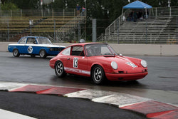 Paul Gaudio with 1968 Porsche 911 in Group 8 -  at the 2016 Portland Vintage Racing Festival - Portland International Raceway
