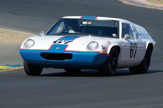 Don Hogue - 1967 Lotus Europa Mark 47 in Group 3 -  at the 2016 Charity Challenge - Sonoma Raceway