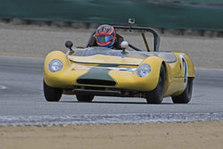 Joshua Feiber - 1962 Lotus 23 in Group 5A  at the 2016 Rolex Monterey Motorsport Reunion - Mazda Raceway Laguna Seca