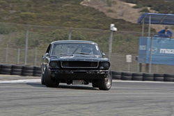 Glenn Seton - 1965 Ford Mustang Coupe in Group 6B  at the 2016 Rolex Monterey Motorsport Reunion - Mazda Raceway Laguna Seca