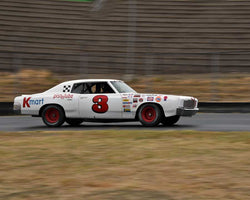Richard Orme with 1971 Chevrolet Monte Carlo in Group 5 - Grand National Stock Cars at the 2015 Sonoma Historic Motorsports Festival at Sonoma Raceway