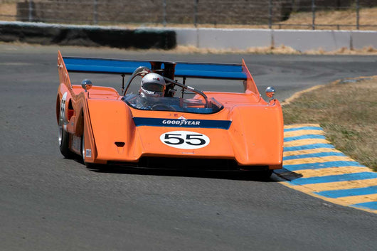 Rob Kauffman with 1974 McLaren M8FP in Group 11 at the 2016 SVRA Sonoma Historics - Sears Point Raceway