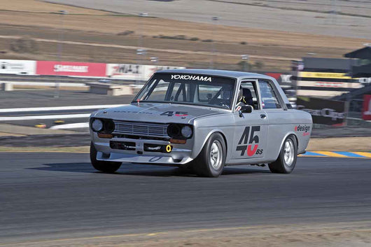 Todd Rueppel - 1971 Datsun 510 in Group 8 -  at the 2016 Charity Challenge - Sonoma Raceway