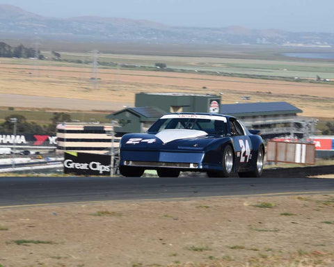 Karman Cusack with 1985 Pontiac Firebird in Group 13 - 1982-1991 Historic IMSA GTO/SCCA Trans-Am at the 2015 Sonoma Historic Motorsports Festival at Sonoma Raceway