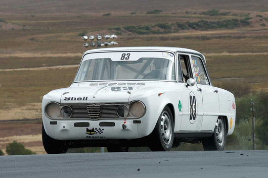 Edward Lauber - 1967 Alfa Romeo Giulia Super in Group 2 -  at the 2016 Charity Challenge - Sonoma Raceway