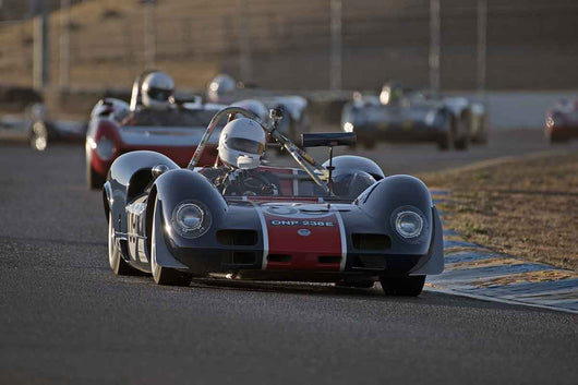 Michael Malone - 1966 Elva MK8 in Group 4 -  at the 2016 Charity Challenge - Sonoma Raceway