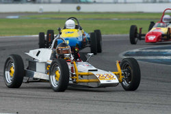 Elliott Barron - 1972 Pegasus FV - Group 1 at the 2017 Brickyard Vintage Racing Invitationalrun at Indianapolis Motor Speedway