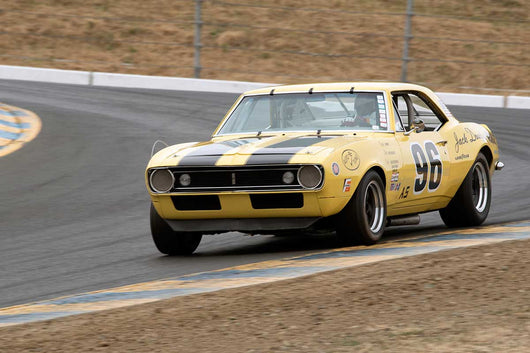 Rick Jeffery with 1967 Chevrolet Camaro Z28 in Group 10 at the 2016 SVRA Sonoma Historics - Sears Point Raceway