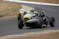 Mark Sange with 1959 Huffaker Formula Junior in Group 4 -  at the 2016 SVRA Sonoma Historics - Sears Point Raceway