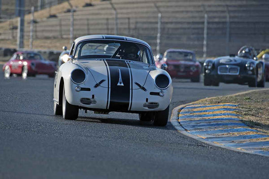 Edward Hugo - 1963 Porsche 356B in Group 2 -  at the 2016 Charity Challenge - Sonoma Raceway