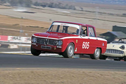 Gary Highland - 1962 Alfa Romeo Giulia TI in Group 1 -  at the 2016 Charity Challenge - Sonoma Raceway
