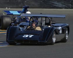 Nick Colonna driving his 1969 Mclaren M8C in Group 7 at the 2015 CSRG David Love Memorial Vintage Car Road Races at Sonoma Raceway