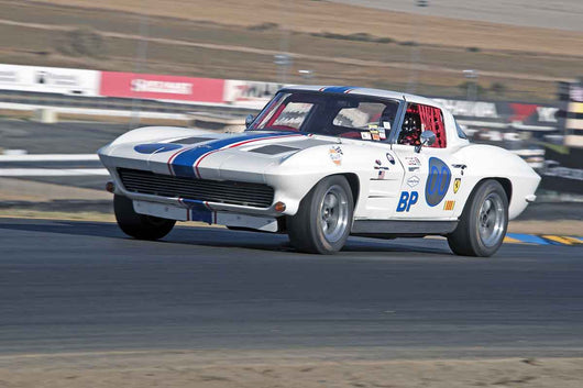 Dan Payne - 1963 Chevrolet Corvette in Group 3 -  at the 2016 Charity Challenge - Sonoma Raceway