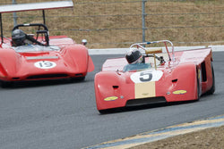 Alex MacAllister with 1971 Chevron B19 in Group 11 at the 2016 SVRA Sonoma Historics - Sears Point Raceway