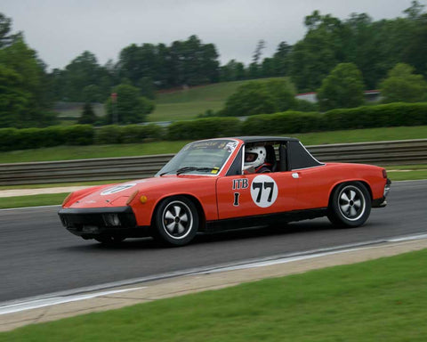Michael Wright with 1970 Porsche 914/6 in Group 2  at the 2015 HMSA Barber Historics