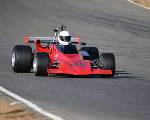 David Rugh with 1973 Brabham BT40 in  Group 7 at the 2015 Season Finale at Thunderhill Raceway