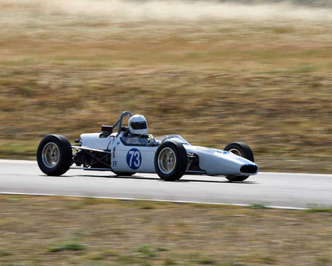William Carson driving his 1969 Crossle 16F in Group 6/7 at the 2015 CSRG Thunderhill Rolling Thunder at Thunderhill Raceway