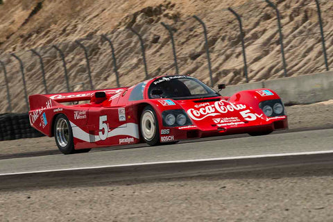 Lee Giannone - 1985 Porsche 962 in Group 8A - 1981-1991 IMSA GTP Cars at the 2017 Rolex Monterey Motorsport Reunion run at Mazda Raceway Laguna Seca