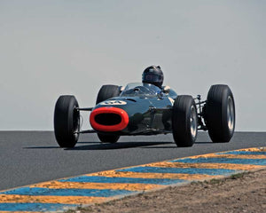 Alberto Fernandez Sr. with 1964 BRM P261 F1 in Group 5 - at the 2016 CSRG David Love Memorial - Sears Point Raceway