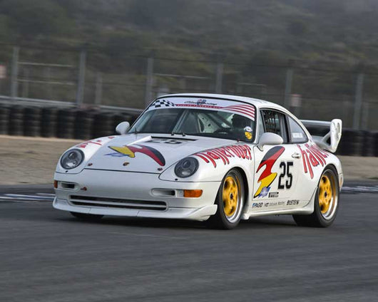 Mark Nasrallah with 1993 Porsche Super Cup in Group 1 - PCA Sholar-Friedman Cup at the 2015 Rennsport Reunion V, Mazda Raceway Laguna Seca