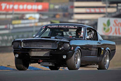 Drew Alcazar - 1966 Shelby GT350 in Group 3 - Large Displacement Production Sports Cars through 1967 at the 2017 CSRG Charity Challenge run at Sonoma Raceway